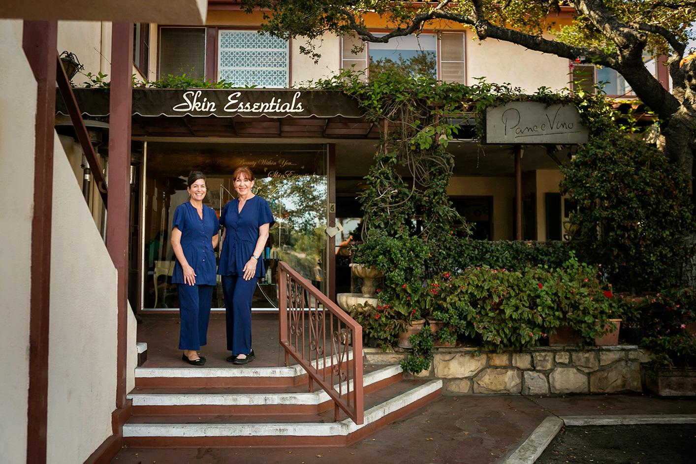 SKin Essentials Montecito store front